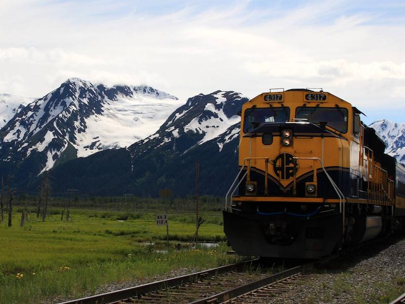 L'Alaska railroad, nouveau circuit ferroviaire proposé par Kuoni dans sa nouvelle production de rentrée 2018 © Wikipedia