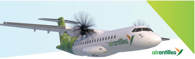 airantilles fait le point sur ses vols dans les Caraïbes après le passage de l'ouragan Irma - DR : airantilles
