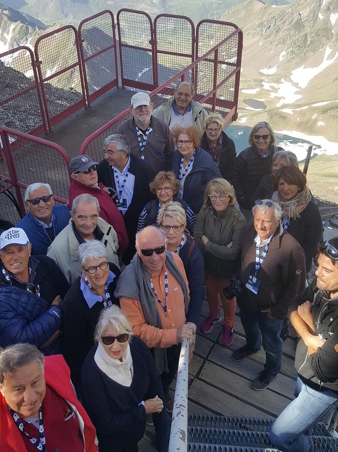 Des membres de l'AFST au Pic du Midi - Photo : AFST