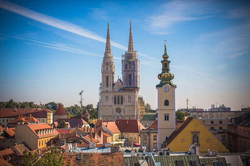 Zagreb, cathédrale, Photo Ivo Biocina - ONT Croatie