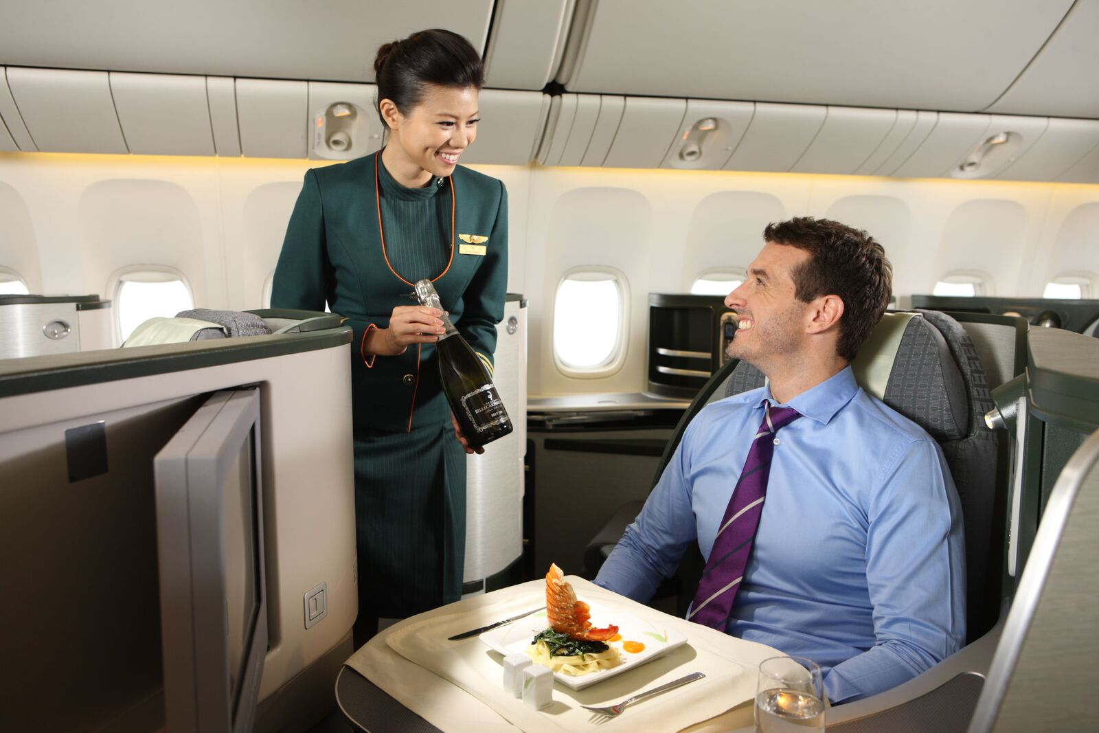 Classe Affaire Royal Laurel. DR: EVA Air