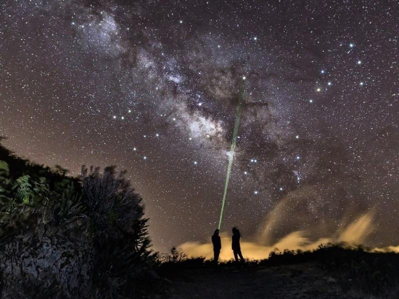 Les produits mêlent la découverte d'une destination à de l'astronomie en soirée et de la photographie - DR : Terre Constellée