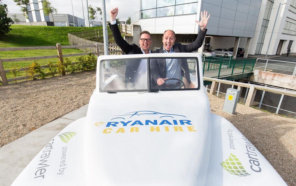 Ryanair prolonge sa collaboration avec CarTrawler pour deux ans dans le cadre du service Ryanair Car Hire - Photo : Ryanair/CarTrawler