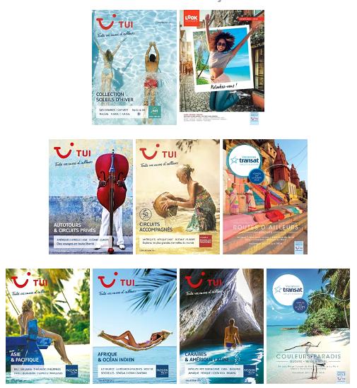 Les brochures des marques de TUI pour 2017/2018 sont publiées - DR : TUI