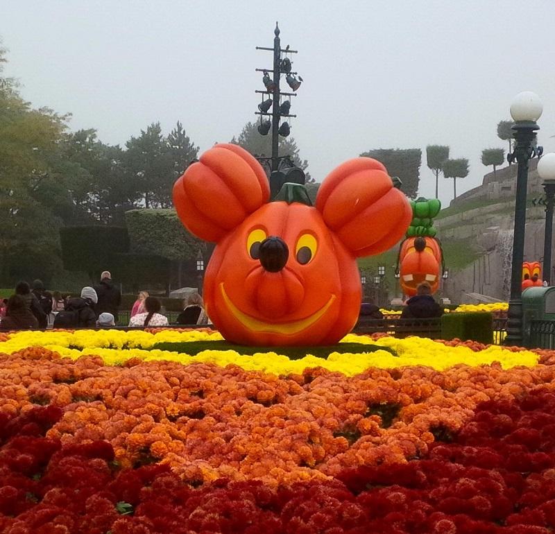 Disneyland Paris revêt les couleurs d'Halloween du 1er octobre au 5 novembre 2017 © Aurélie Resch