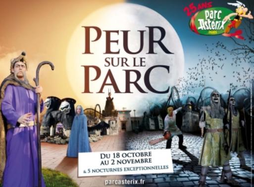 Halloween fait son retour très attendu dans les parcs d'attractions français