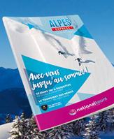 La brochure Alpes Express - DR