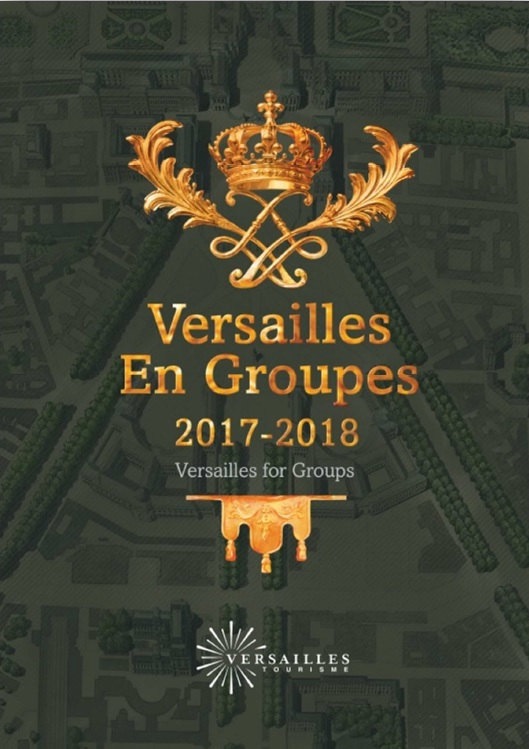 Versailles l 39 office du tourisme dite sa brochure for Office tourisme versailles