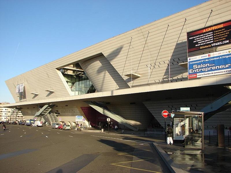 Le Palais des Congrès à Paris - DR Daniel Rodet / wikicommons