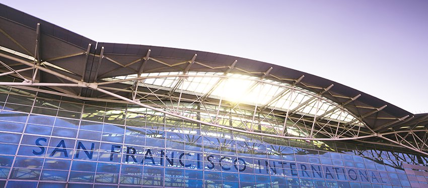 L'aéroport de San Francisco est un des piliers de l'économie locale - Photo : Aéroport de San Francisco