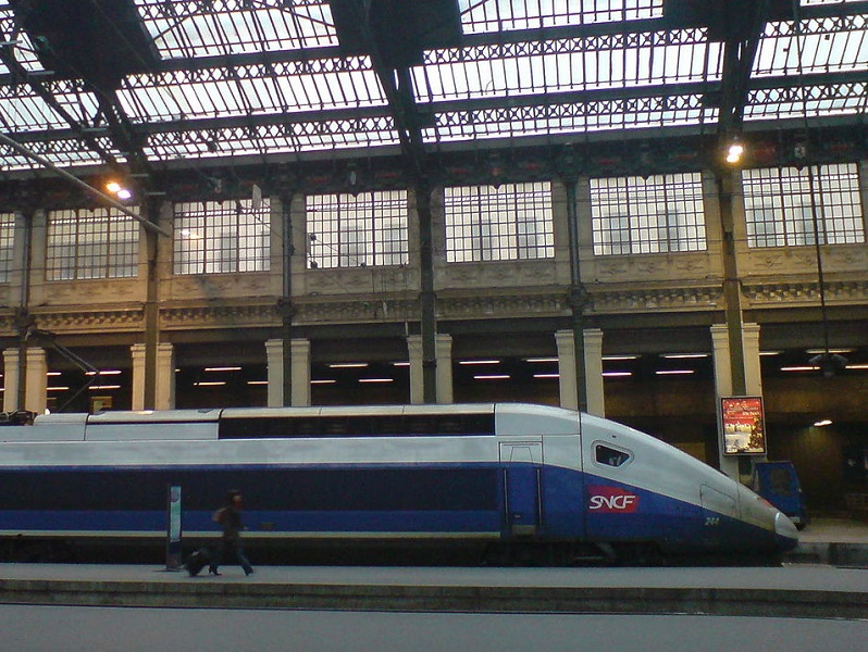 TGV duplex gare de Lyon à Paris - photo wikicommons CC BY 2.5