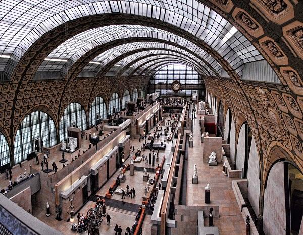 Le Musée d'Orsay obtient le prix de meilleur musée européen en 2017 par Tripadvisor - Crédit photo : domaine public