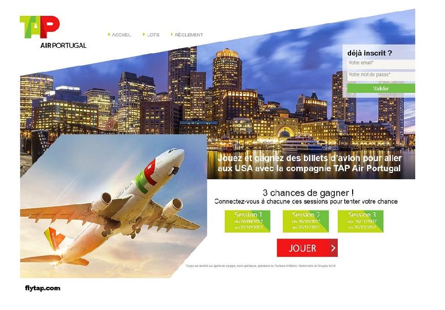 3 allers-retours à gagner avec TAP Air Portugal