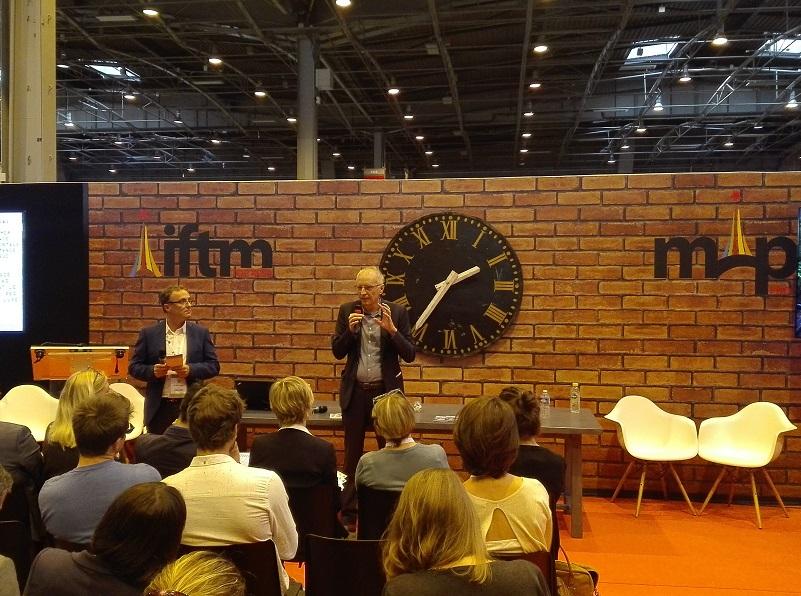 Christophe Bonnafous, gérant fondateur de tourisme & développement et Franck Laval, Initiateur du Projet Solar Hôtel - DR : J.P.