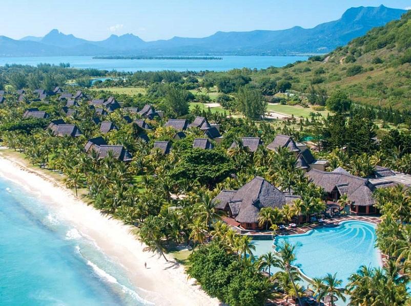 Au Dinarobin, une partie est réservée aux couples sans enfants avec piscine, plage et conciergerie exclusives - DR : Beachcomber