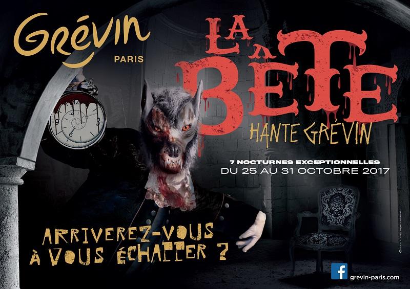 Halloween : terreur au Musée Grévin de Paris