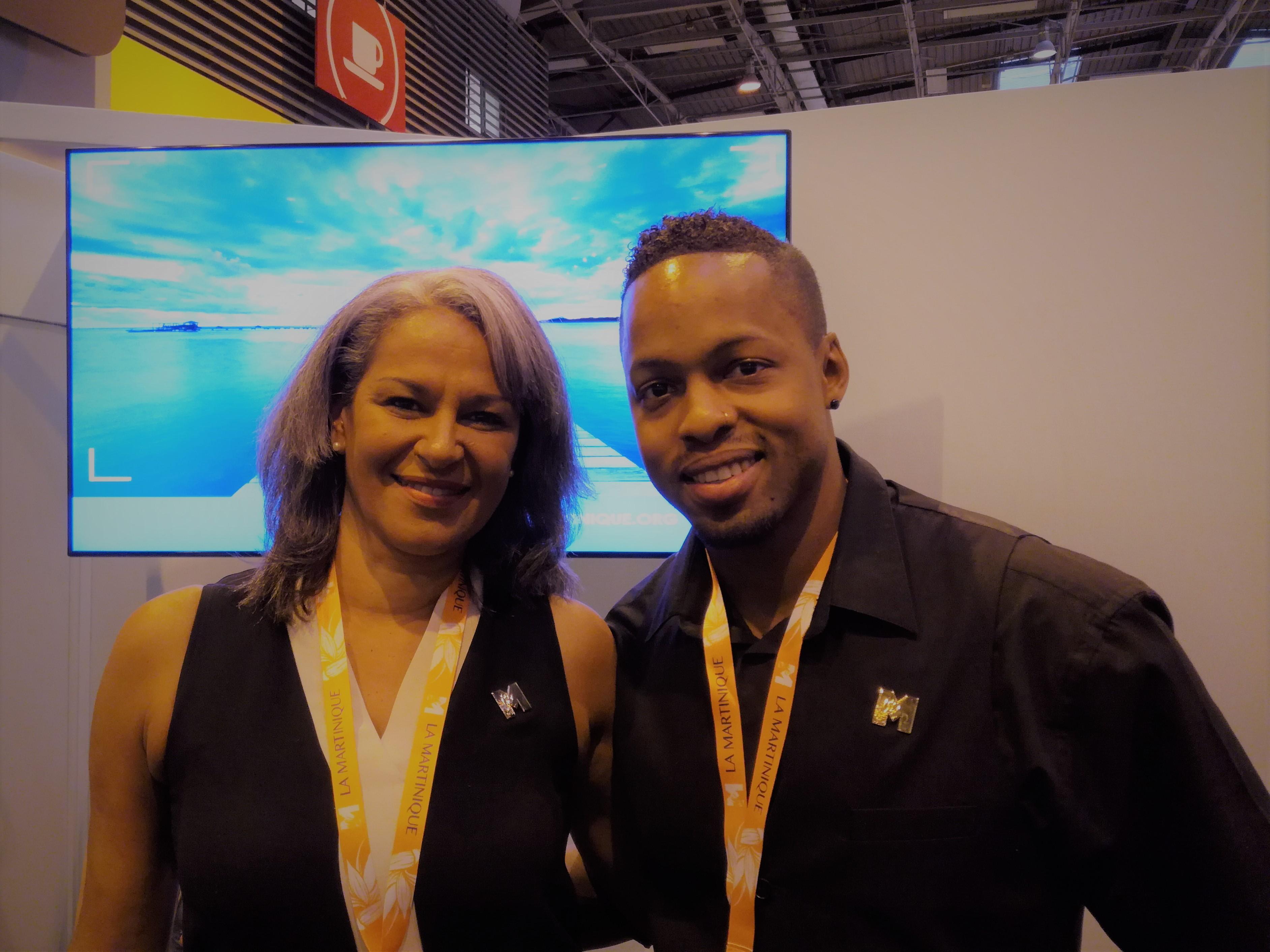 Dimitri Bascou et Karine Mousseau à Top Resa - crédit photo : RP
