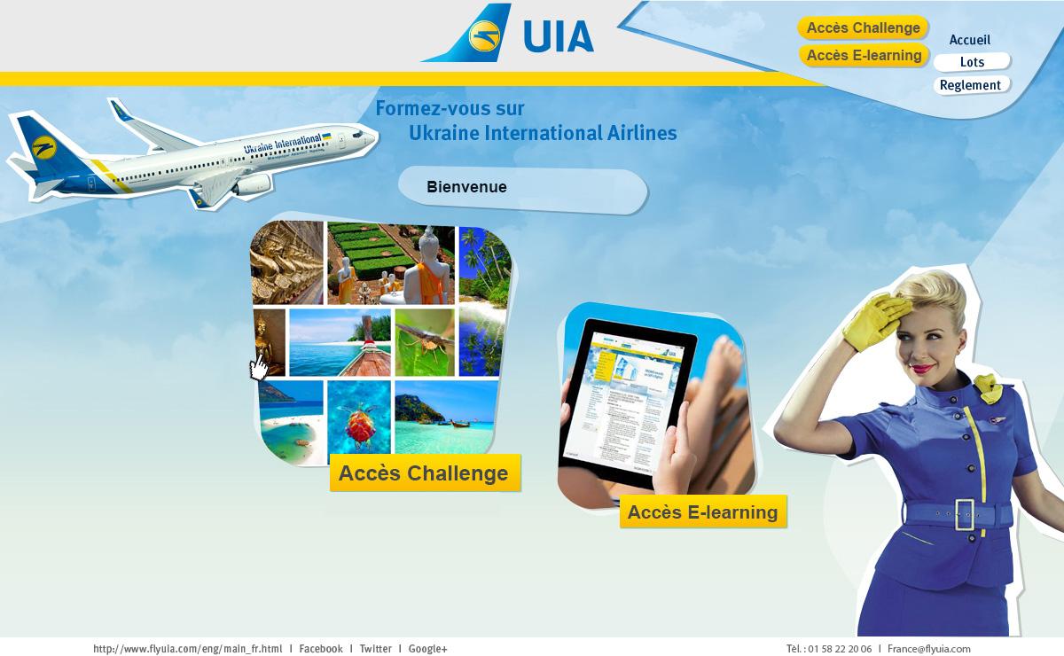 UIA propose son challenge des ventes en parallèle de son e-learning - Capture d'écran