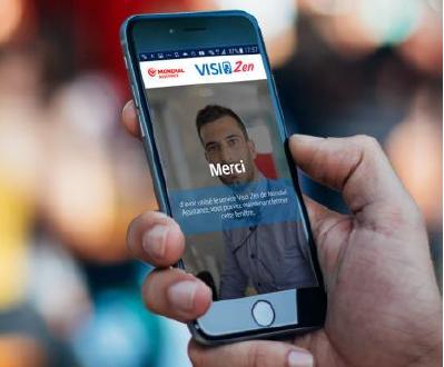Visio Zen est un nouveau service de consultation entre un médecin et un patient par l'intermédiaire d'une webcam - Photo : Mondial Assistance