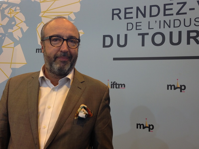 Frédéric Lorin est le directeur de l'IFTM Top Resa - Photo : C.L.