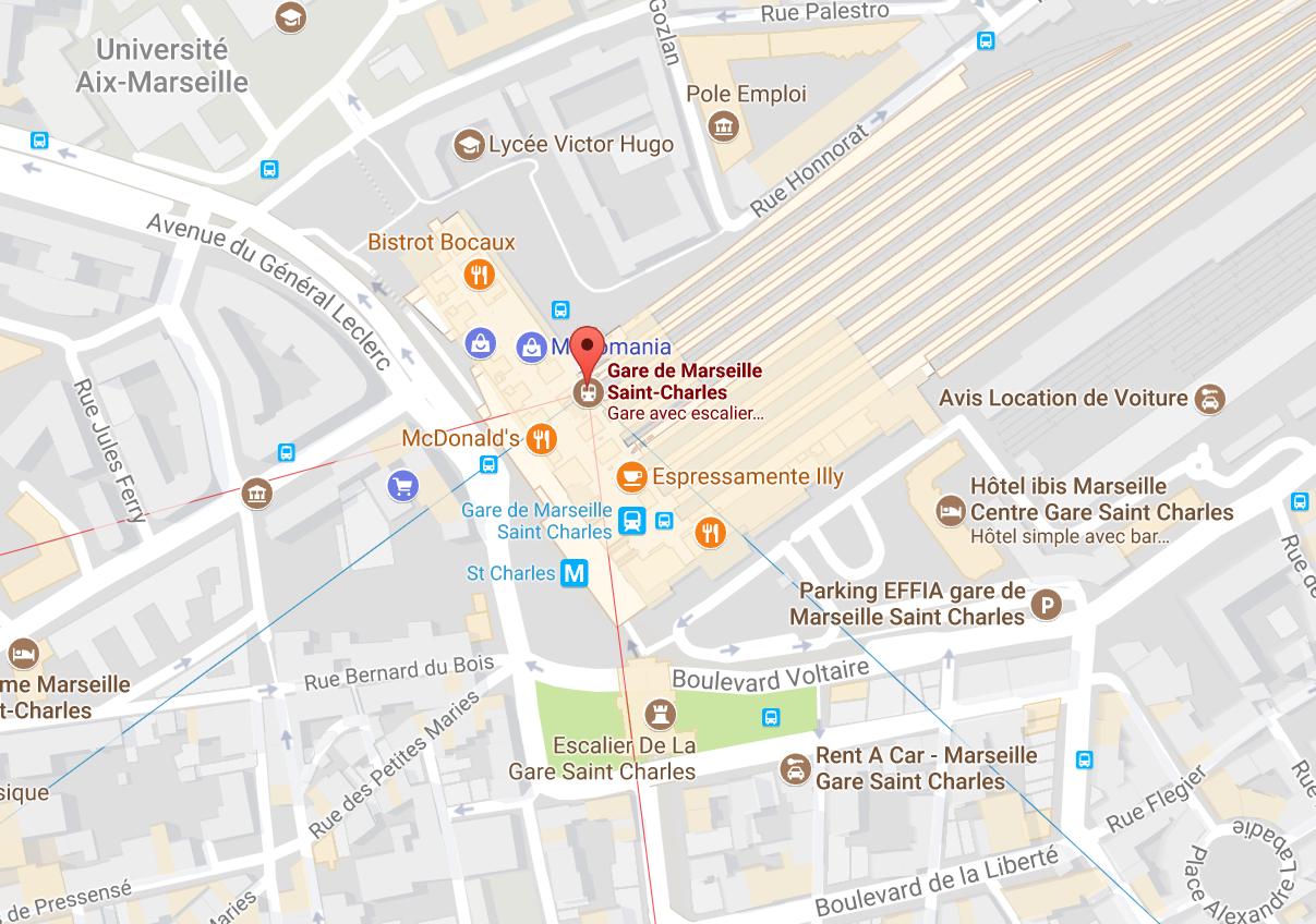 Marseille : attaque au couteau en gare Saint-Charles, 2 morts