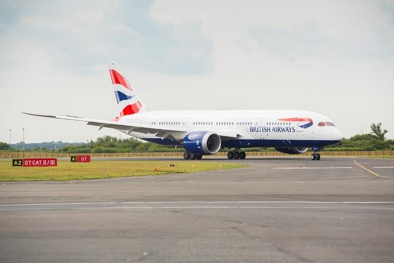 british airways dote sa flotte d 39 un 25e boeing dreamliner. Black Bedroom Furniture Sets. Home Design Ideas