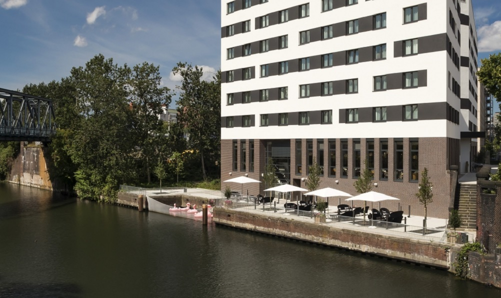 façade de l'hôtel Innside à Hambourg - photo Meliá Hotels International
