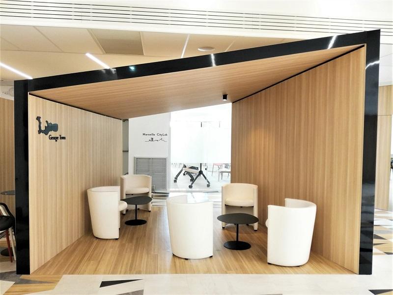 Les nouveaux lieux de réunions du City Center Vieux-Port de Marseille - Crédit photo : RP