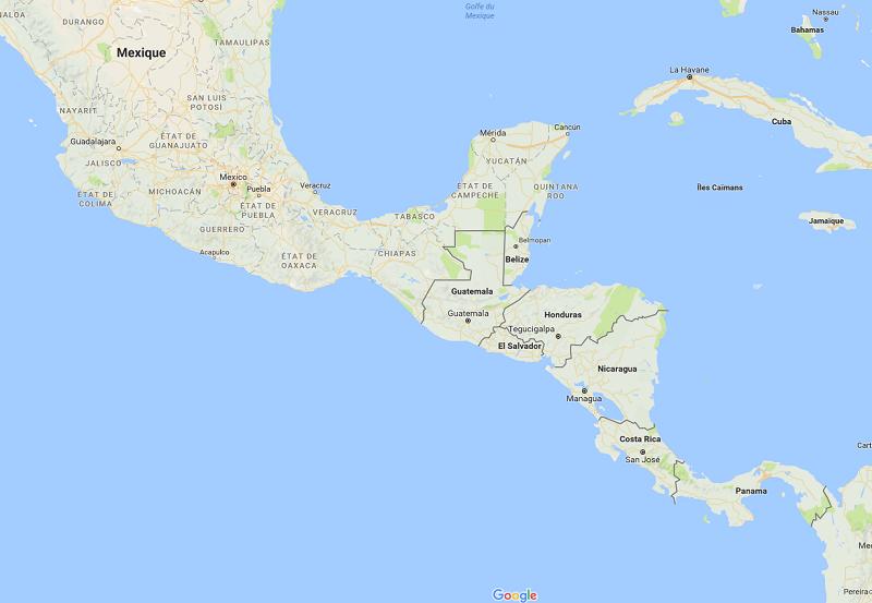 La tempête Nate se dirige vers le Mexique et les Etats-Unis - DR