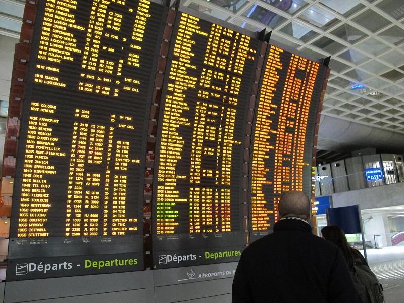 La DGAC a demandé aux compagnies aériennes de réduire leur programme de 30% pour le mardi 10 octobre 2017 - Crédit photo : Pixabay