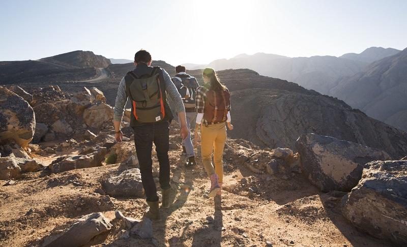 La randonnée est l'une des nombreuses activités possible à Ras Al Khaïmah