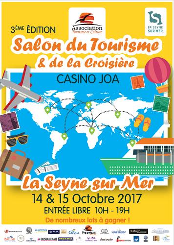 L'affiche du salon du tourisme et de la croisière de La Seyne-sur-Mer - DR