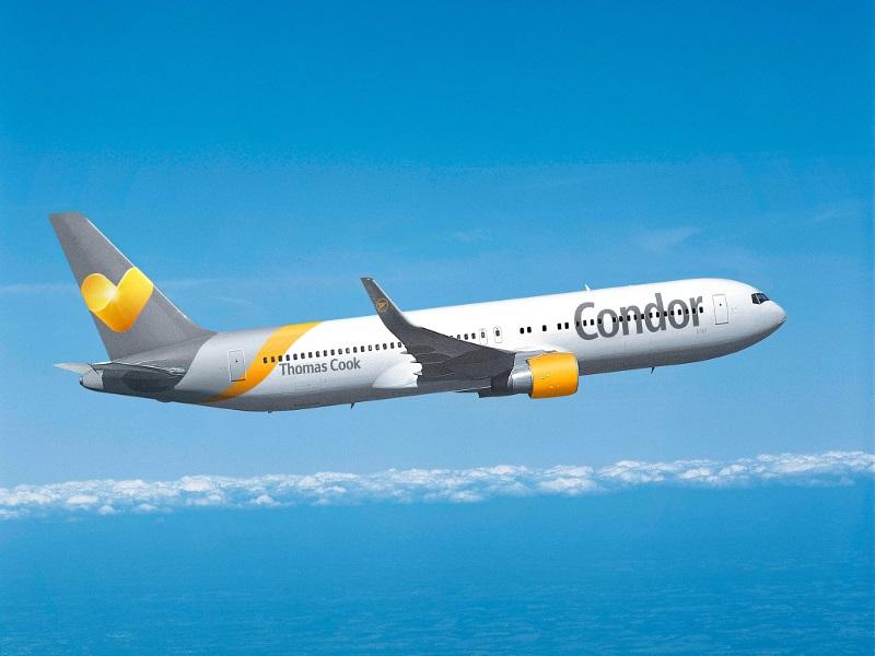 Chaque année, plus de 7 millions de voyageurs utilisent Condor. Photo: Condor