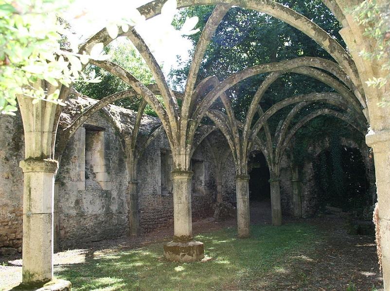 Le scriptorium XIIIe siècle de Saint-Michel en l'Herm - DR  Hugo Chatevaire