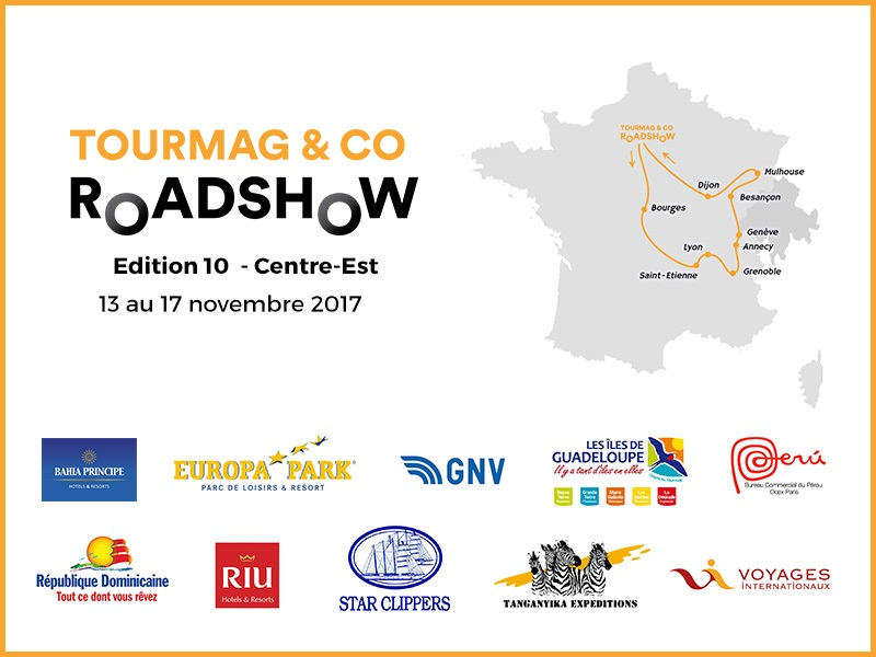 Voyages Internationaux roule en France avec le TourMaG and Co RoadShow