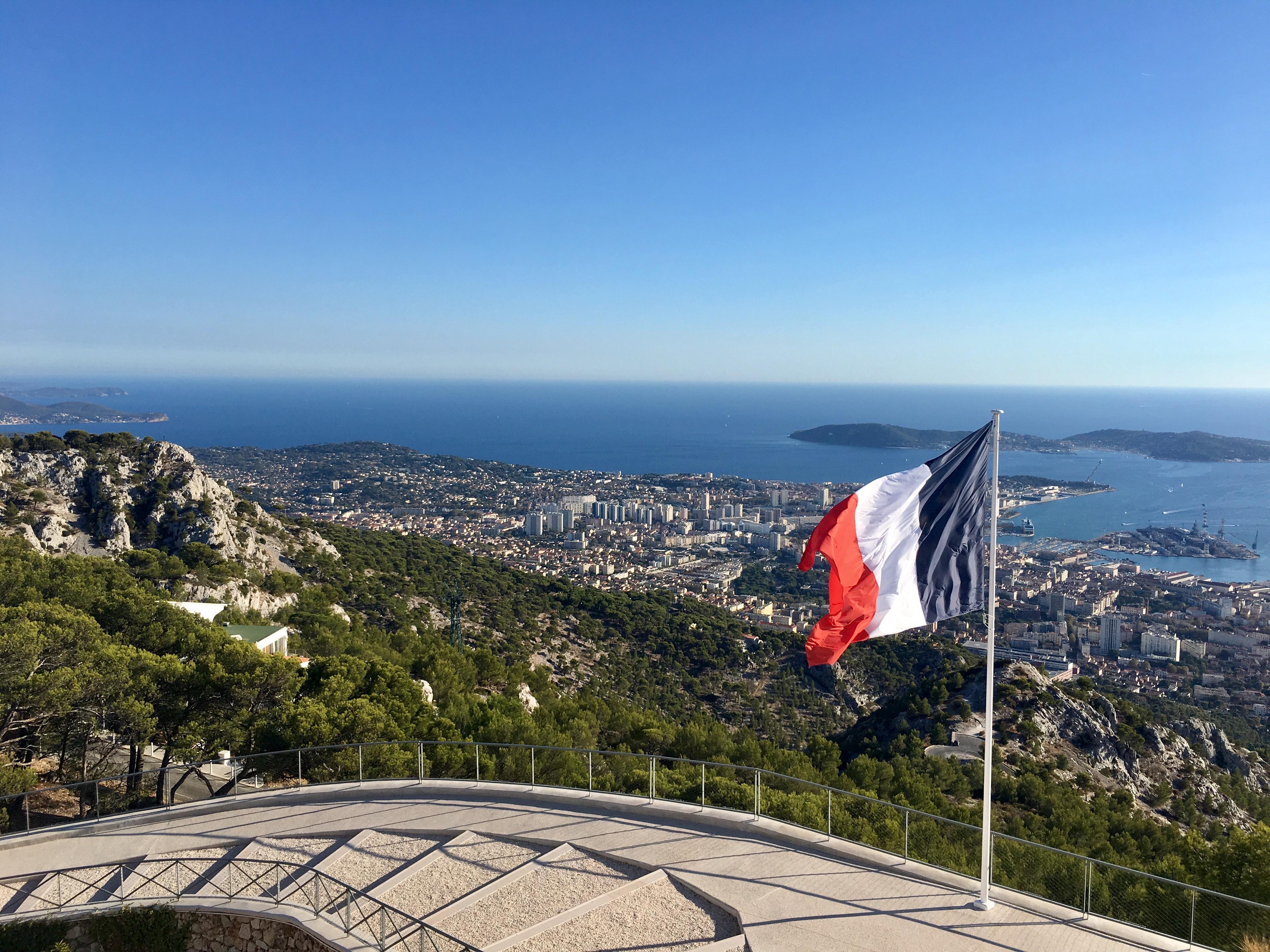 Vue de la Rade de Toulon depuis le Mémorial du débarquement en Provence © TourMaG