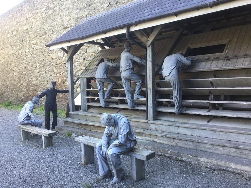 Le comté de Wicklow abrite, dans sa capitale éponyme, la plus ancienne prison de l'île - DR : J.-P. C.