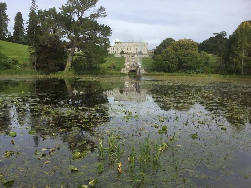 Le manoir de Powerscourt, promenade favorite des Dublinois - DR : J.-P. C.
