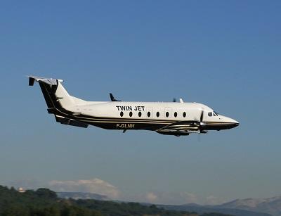 La compagnie opère 200 vols régionaux hebdomadaires pour desservir 15 destinations en Europe - Crédit photo : Twin Jet