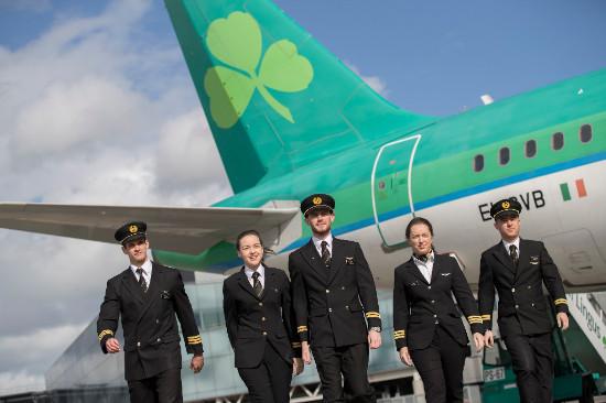 La flotte de la compagnie aérienne est également en pleine croissance - Crédit : Aer Lingus