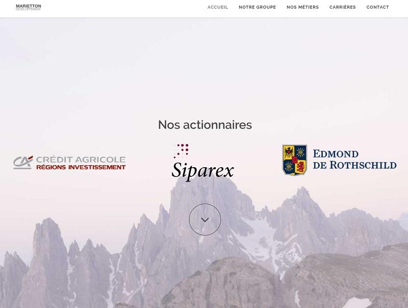 L'actionnariat du groupe Marietton se répartit entre le Crédit Agricole, Siparex, Edmond de Rothschild et la famille Abitbol - DR