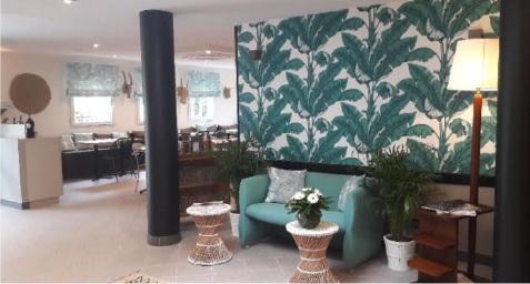 Nouveau lobby d'un hôtel Altica - Crédit photo : Altica
