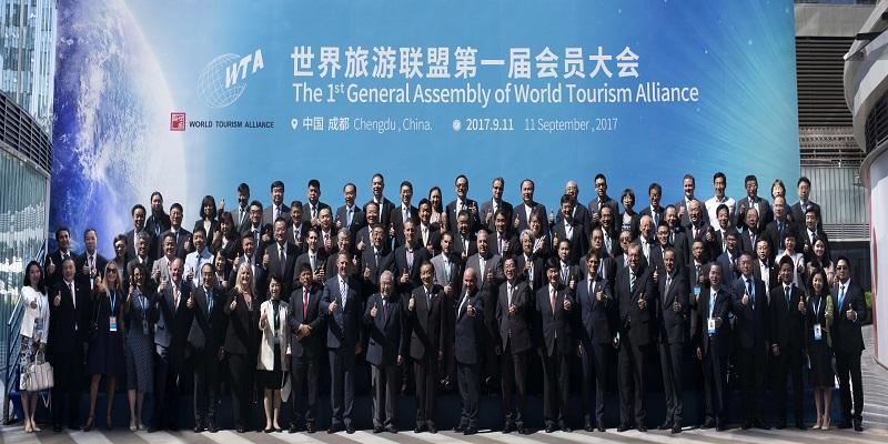 La WTA fête sa première assemblée générale Crédit : Office national du tourisme de Chine