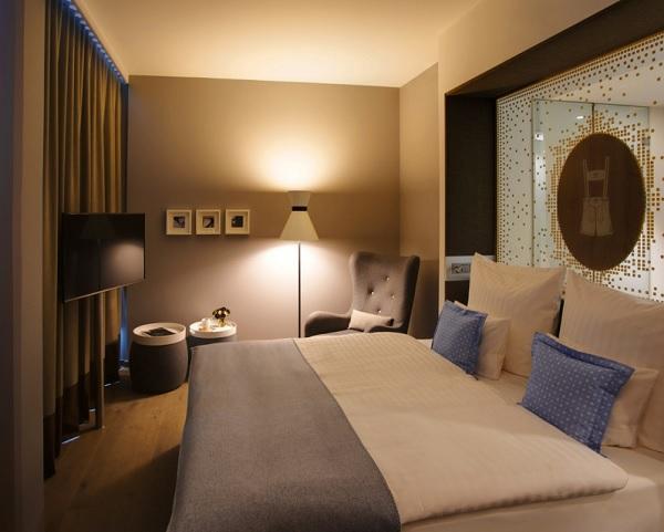 Une des 292 chambres du futur hôtel - Capture écran du site : www.steigenberger.com