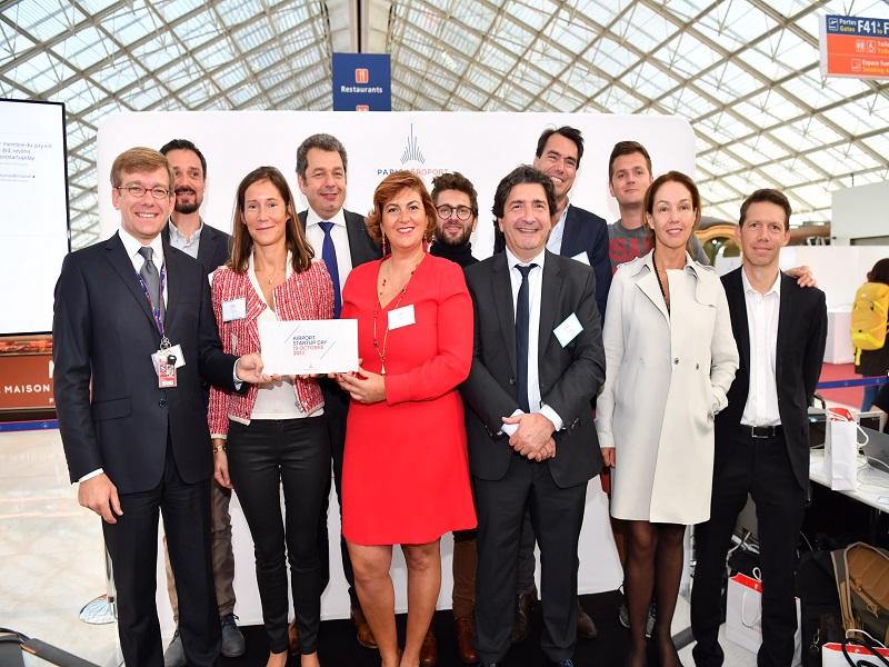 Le Airport Startup Day est le premier concours de start-up spécialisées dans le voyage organisé par ADP, pour inventer l'aéroport de demain - Crédit : JP Gaborit Groupe ADP