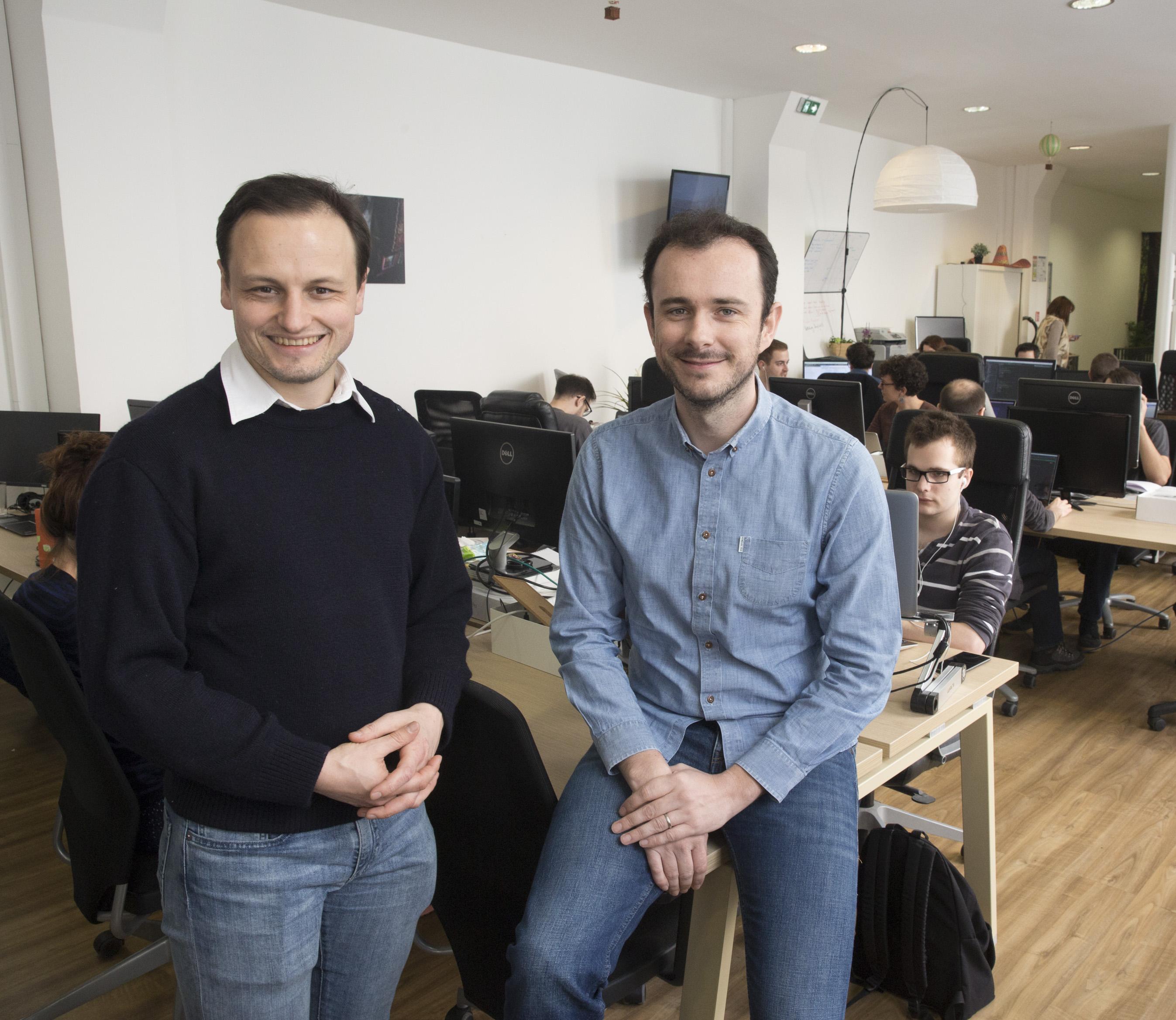 Éric La Bonnardière et Yvan Wibaux, les co-fondateurs d'Evaneos. DR Evaneos.