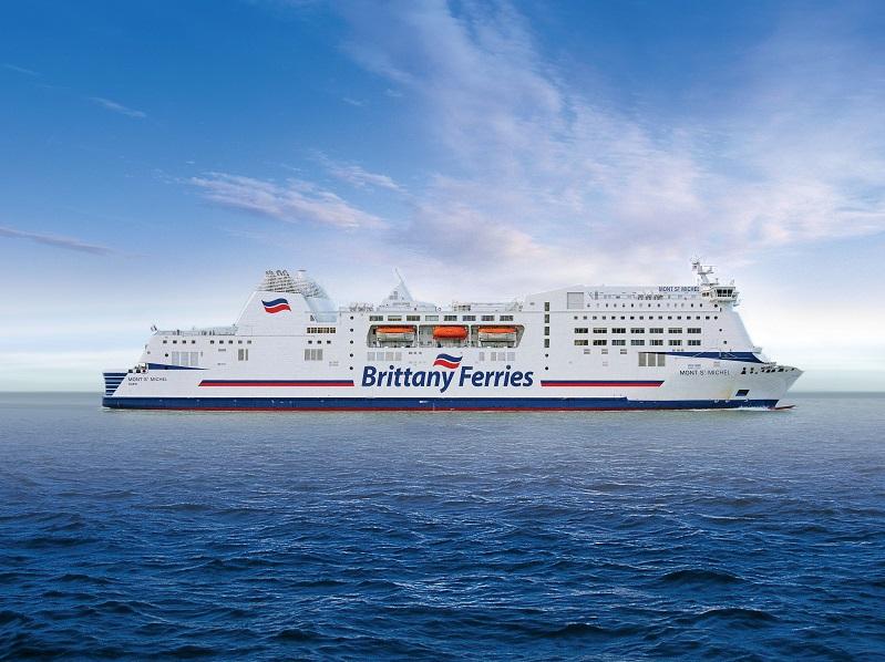 Le navire Mont Saint Michel - © Brittany Ferries