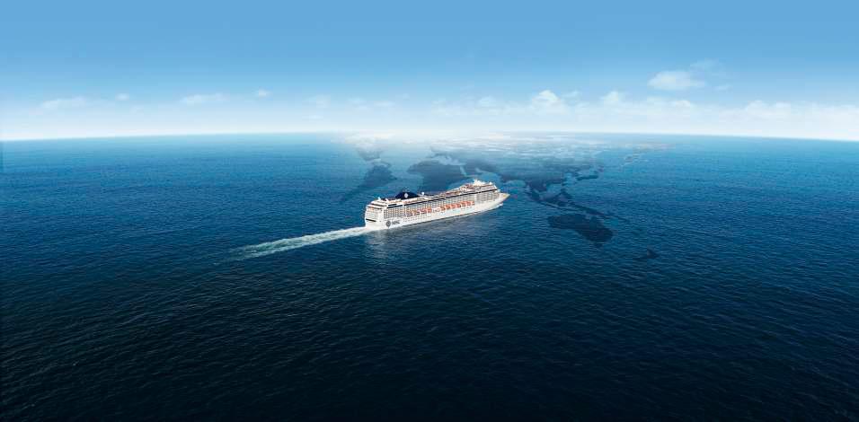 Le MSC Magnifica partira pour un tour du monde en 2020 - Photo DR MSC Croisières