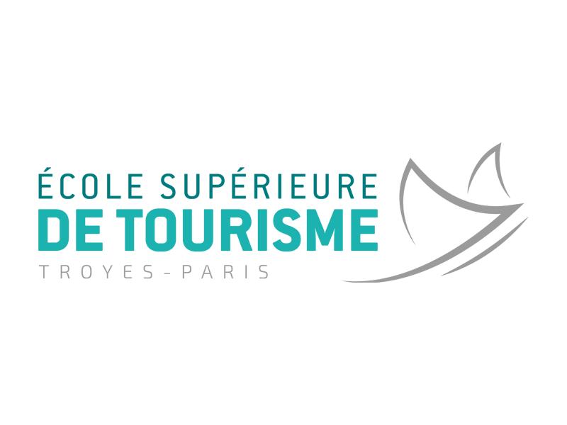 L'Ecole Supérieure de Tourisme Troyes-Paris est candidate aux Palmes du Tourisme Durable - DR : Logo ESC Troyes-Paris