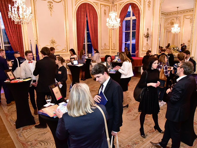 Une quarantaine d'invités ont participé au workshop, de 19h à 22h, en présence de l'ambassadeur de la République tchèque en France - DR : Alexandre Nestora